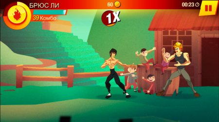 [App Store] Bruce Lee: Enter The Game. Брюс Ли против всех